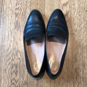 Madewell Black Loafers Size 5